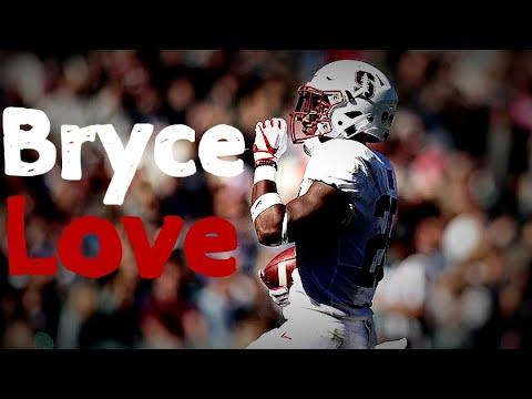 "Bryce Love || ""Valet"" || Stanford Cardinal Highlights"