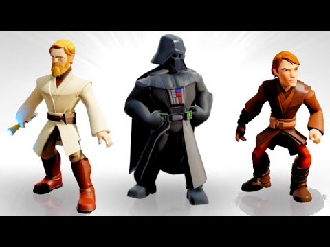 Disney Infinity 3.0 All Star Wars Character Abilities