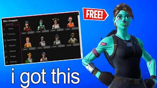 *NEW* FORTNITE SKIN CHANGER WORKING v8.40 *FREE GHOUL TROOPER AND MORE*