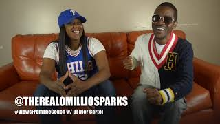 Omillio Sparks Talks About State Property, Roc A Fella , Ups & Downs, Music + FREESTYLE