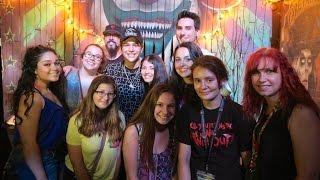 Meeting Austin Mahone At Halloween Horror Nights Universal Orlando HHN25