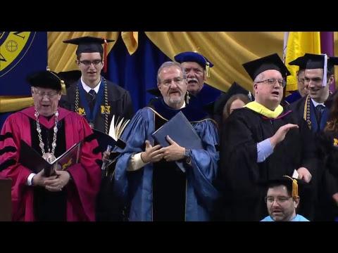 UM-Dearborn Winter 2018 Commencement Ceremony