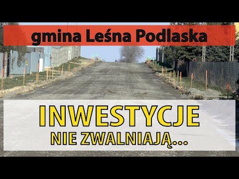Gmina Leśna Podlaska nie zwalnia z inwestycjami