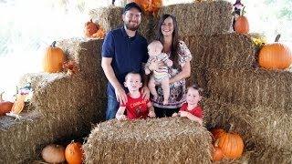L& L's Birthaversary Family Day! Pumpkin Patch & Cake!