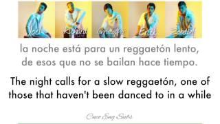 CNCO- Reggaetón Lento (English/Spanish Lyics)