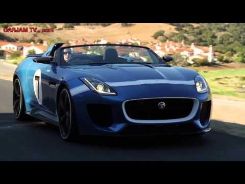 New Jaguar F Type 7 Roadster HD Interior + In Detail Driving Commercial 2014 Carjam TV HD
