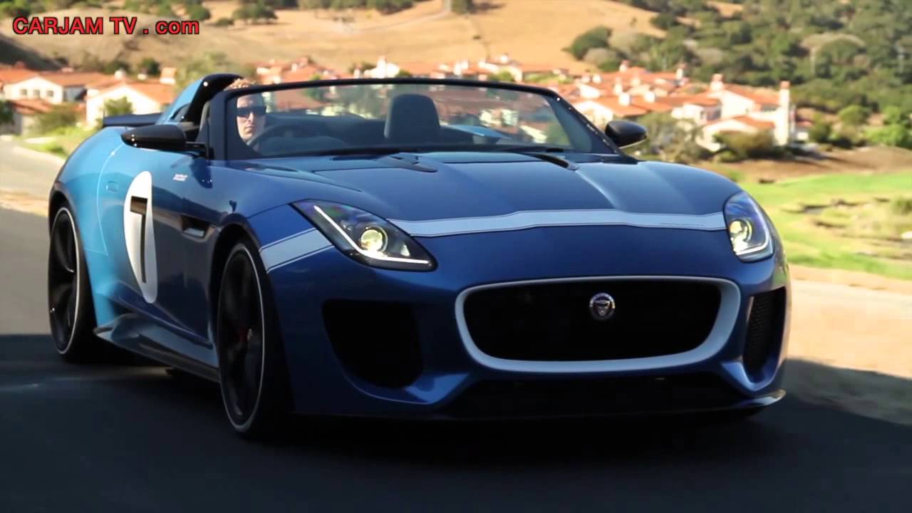 New Jaguar F Type 7 Roadster HD Interior + In Detail Driving Commercial  2014 Carjam TV HD