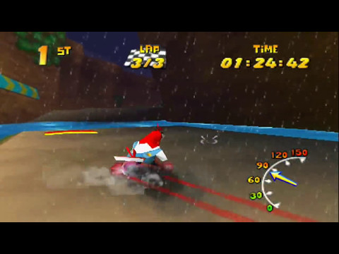 Diddy Kong Racing - Wizpig Race as Drumstick [Purple Boosts]