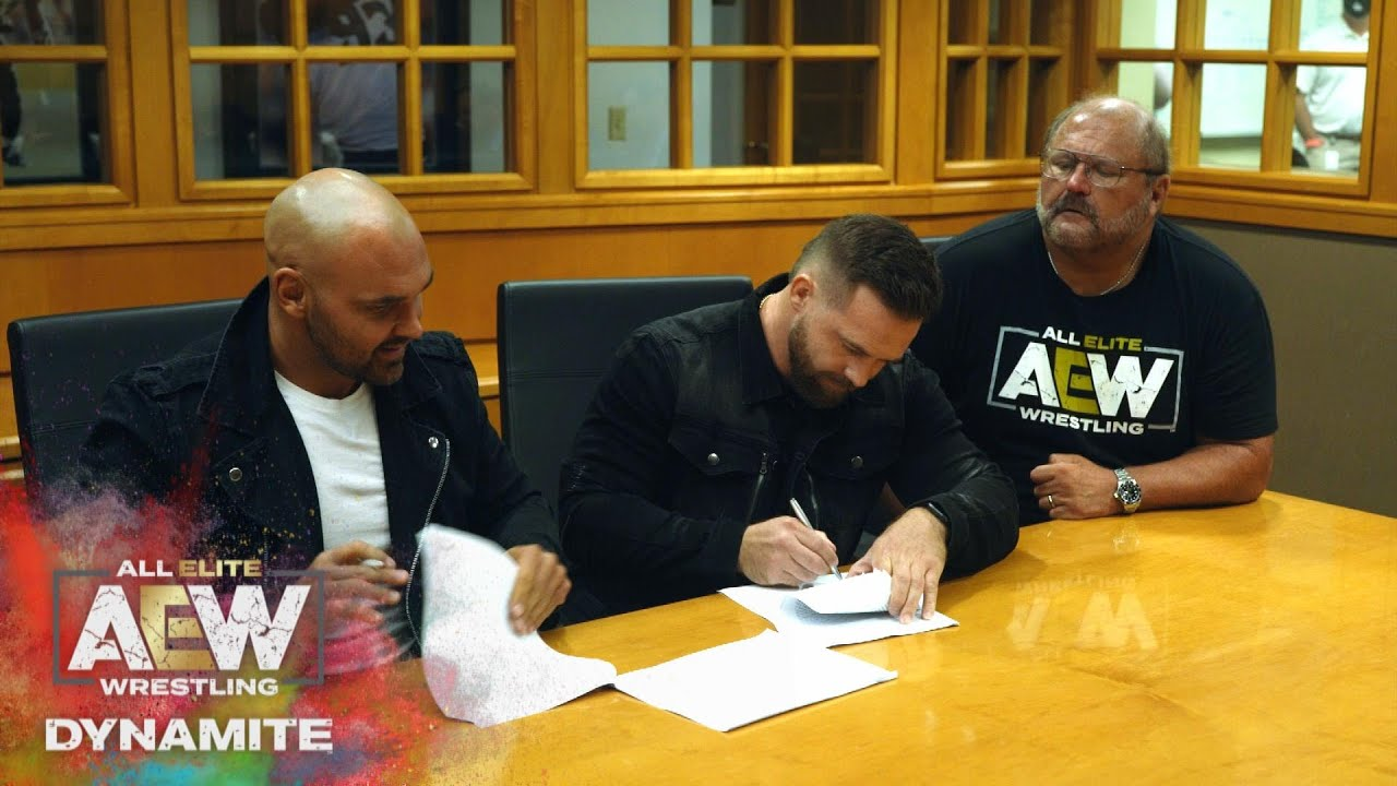 FTR Has Officially Signed with AEW | AEW Dynamite, 7/29/20