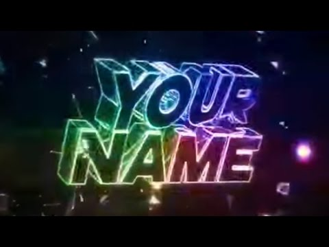 FREE BLUE Intro Template #305 Cinema 4D & After Effects