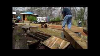Diy; How To Move A Heavy Timber By Yourself
