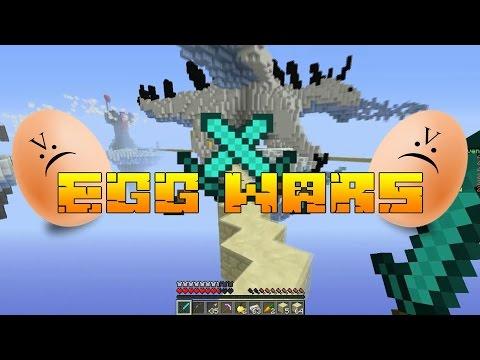Minecraft:EGG WARS #3 БОЙ ПО ЧЕРНИТЕ