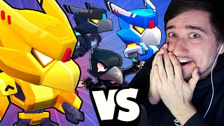 JÁ VS 9x LEGENDARY CROW | Brawl Stars