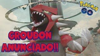 GROUDON LLEGA A POKÉMON GO EN INCURSIONES LEGENDARIAS! ANUNCIO DE NIANTIC