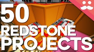 50 Redstone Projects You Can Build in Minecraft!