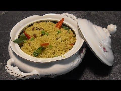 Masoesa rijst van verse Masoesa vruchten. (Basisrecept) Vegetarisch