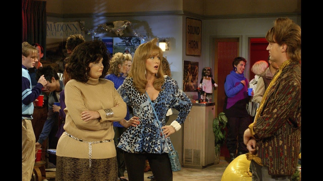 Friends Season 10 Episode 11 The One Where The Stripper Cries
