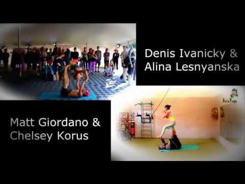 Matt Giordano & Chelsey Korus  Denis Ivanicky & Alina Lesnyanska
