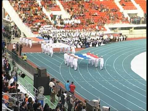 พิธีเปิดการแข่งขันกีฬาแห่งชาติ ครั้งที่ 42 สุพรรณบุรีเกมส์ 1/6