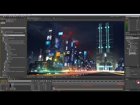 Making Of Nyte - Lights & Motion