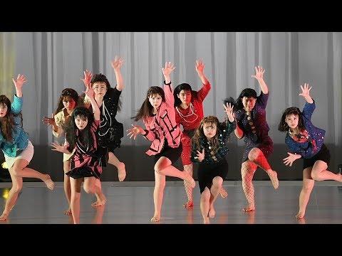 登美丘高校ダンス部OGがバブリーダンスを披露