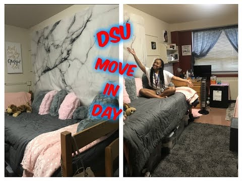 College Move In Day Vlog  DSU