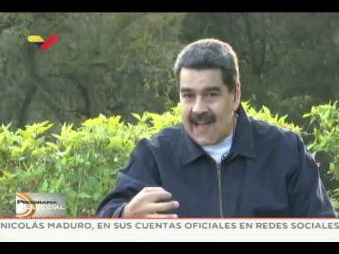 Nicolás Maduro entrevistado por Max Blumenthal para The Grayzone
