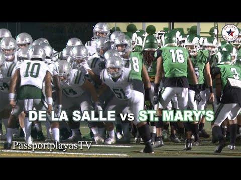 De La Salle Vs St. Mary's - TRUE Green Machine Will Prevail!!!