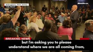 A Mother's Town Hall Plea