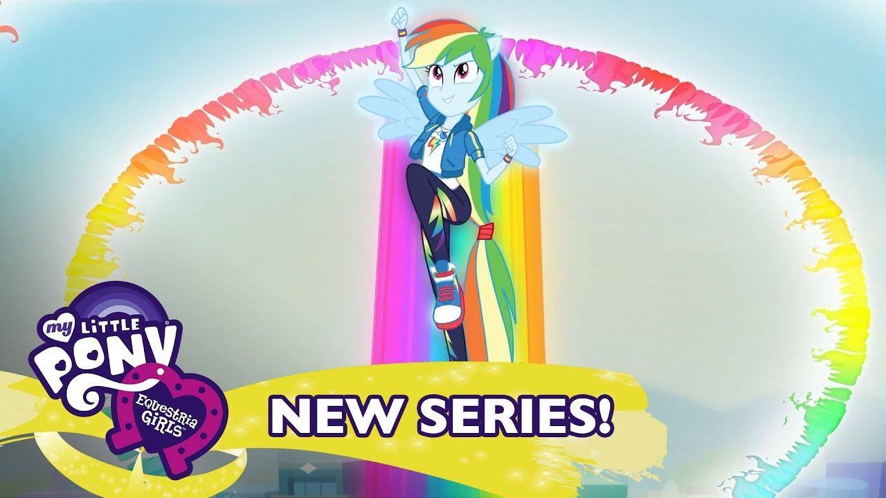 My Little Pony Equestria Girls Season 2 Run To Break Free Ft Rainbow Dash Music Video Youtube