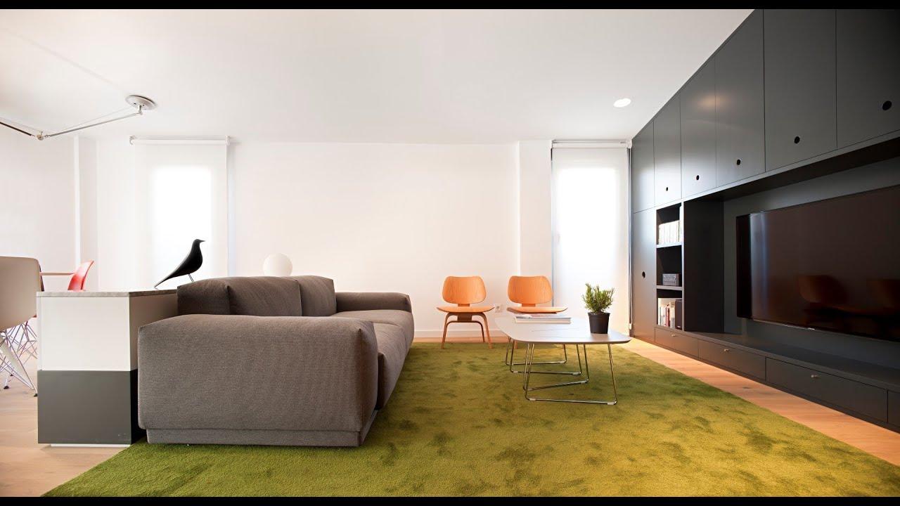 Ingenious design solutions in a cozy 39 square meter for Interior design 60 square meters