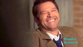 Jensen & Jared Prank Sleeping Misha & Misha LOSES IT! - SPN Season 15 GAG REEL VS Actual Scenes