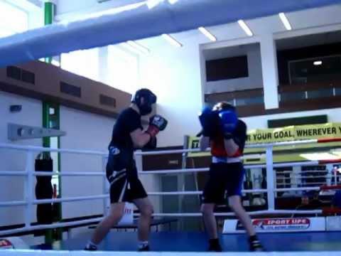 Viktor Postol sparring before Joze Lopez fight P. 1