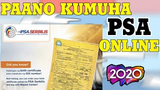 HOW TO GET PSA BIRTH CERTIFICATE ONLINE (BAYARAN TRU BAYAD CENTER & GCASH AMEX) 2020