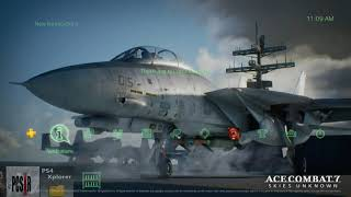 how to install Ace Combat 7 theme PS4 5.05