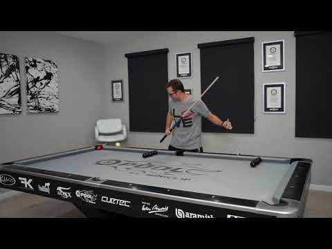 DAILY Pool Trick Shot - DAY 9!! - Double Rail Jump - Venom Trickshots