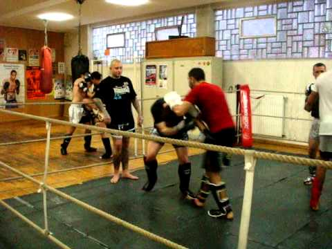 Sparring Mohamed Rahhaoui vs David Schroeder
