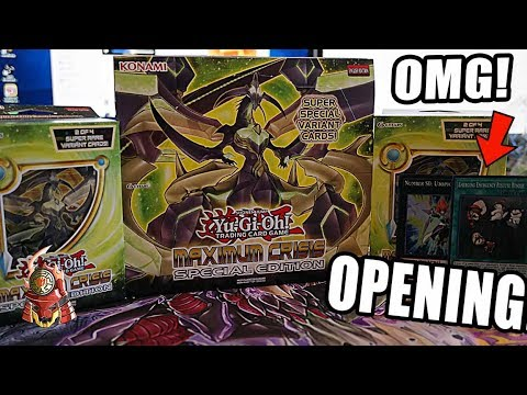 YUGIOH! THE BEST! MAXIMUM CRISIS SPECIAL EDITION BOX OPENING! EMERGENCY RESCUE IS HERE! (30 PACKS)!!