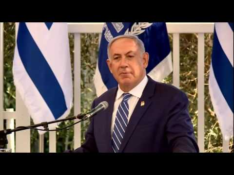 PM Netanyahu at Annual Reception for the Diplomatic Corps