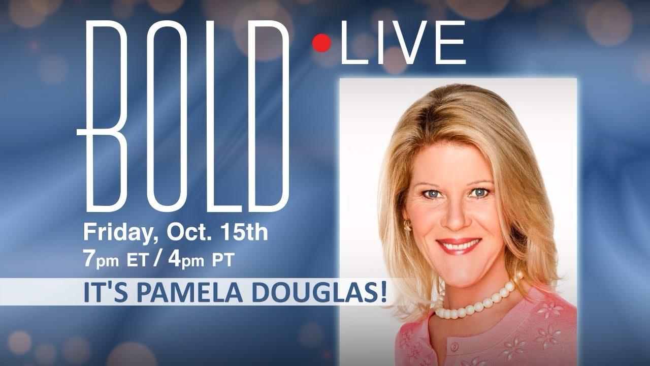 Download BOLD LIVE It's Pamela  Douglas!