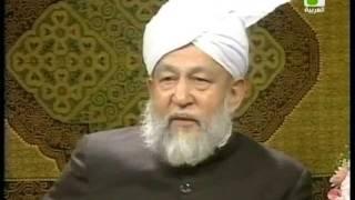 Liqa Ma'al Arab 27 December 1994 Question/Answer English/Arabic Islam Ahmadiyya