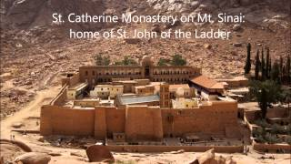 Sermon on St  John of the Ladder 2014
