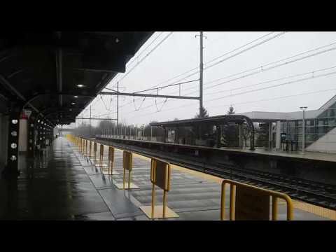 A Late Acela Express 2164 at Hamilton, NJ On Opposite Track