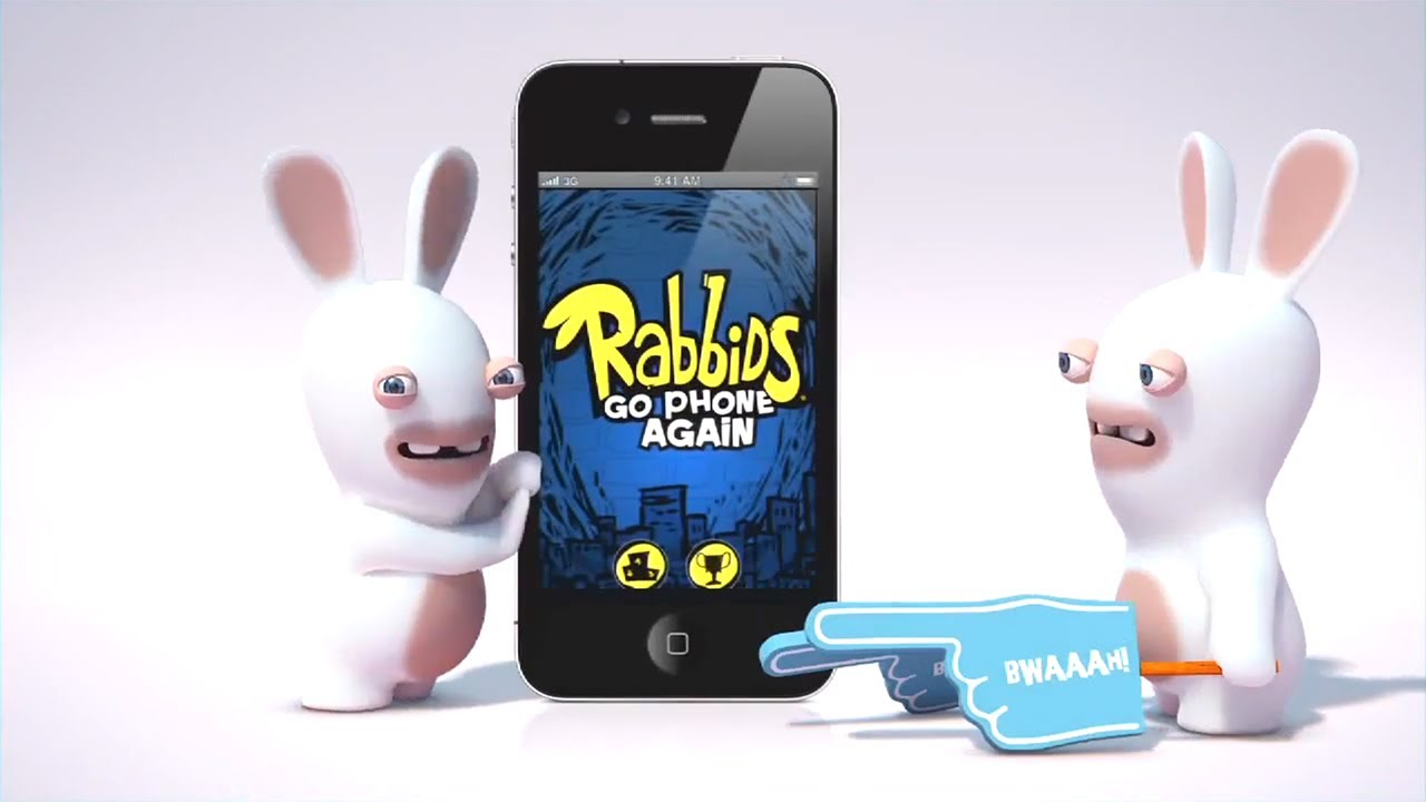 official rabbids go hd launch trailer youtube