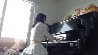 遅いです 歌詞が好きです! ピアノはすべてオリジナルアレンジです・・