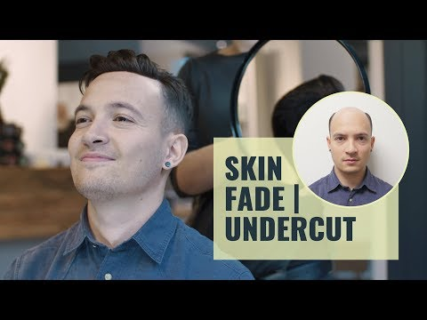 Skin Fade Undercut mit Haarsystem | Non Surgical Hairreplacement for Men