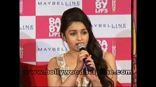 Alia Bhatt Launch Babylips Kiss Song