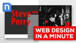 Web Design In Minutes - Steve Perry Music