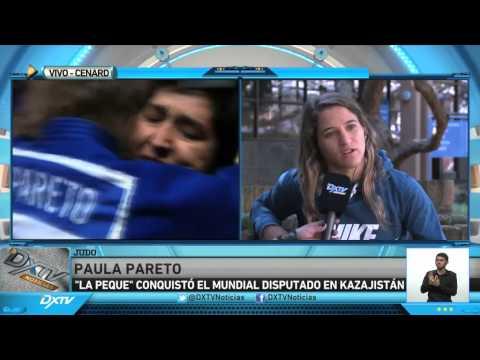 PAULA PARETO MANO A MANO CON DXTV NOTICIAS