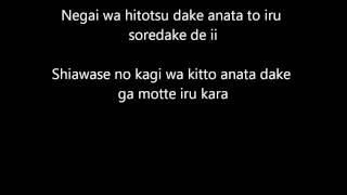 Wonder girls - Nobody (jap. version-lyrics)